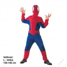 Dětský karnevalový kostým pavoučí muž SPIDER MAN 130 - 140cm ( 9 - 12 let )